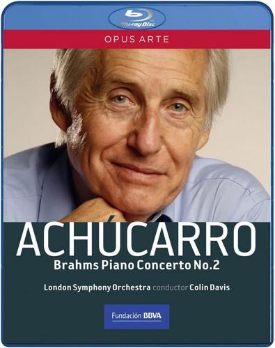 Achucarro / Lso / Davis - Brahms - Piano Concerto No.2 (Blu-Ray)