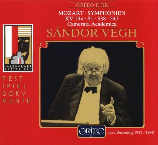 Wolfgang Amadeus Mozart - Symphonies KV19A  81  338  543