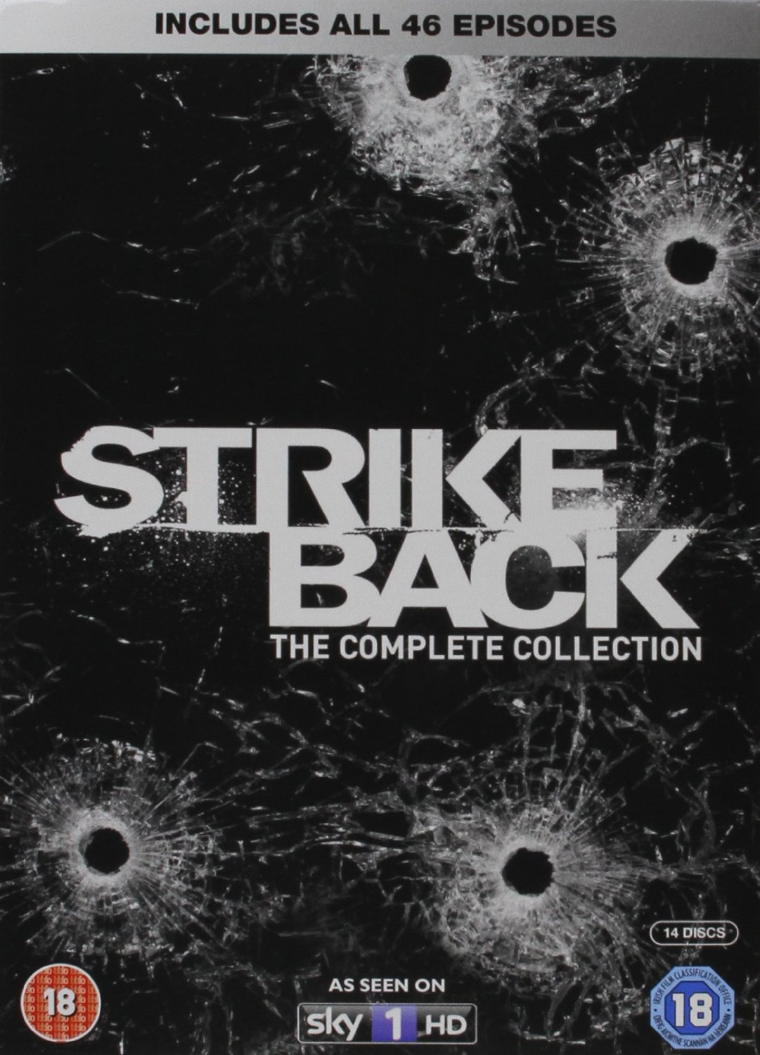 Strike Back - Complete Series 1-5 (DVD)