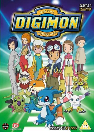 Digimon: Digital Monsters Season 2 (DVD)