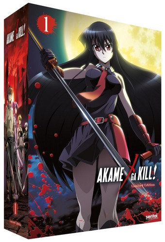 Akame Ga Kill - Collection 1 (Episodes 1-12) Deluxe Collector's Edition (Blu-ray)