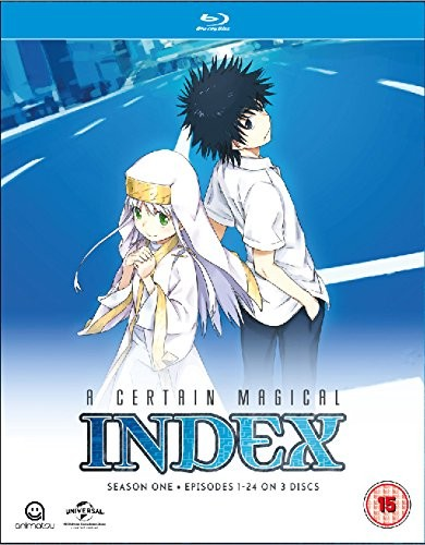 A Certain Magical Index: Complete Season 1 Collection (Episodes 1-24) (Blu-ray)