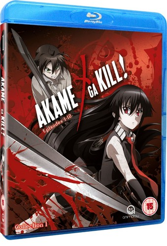 Akame Ga Kill Collection 1 (Episodes 1-12) (Blu-ray)