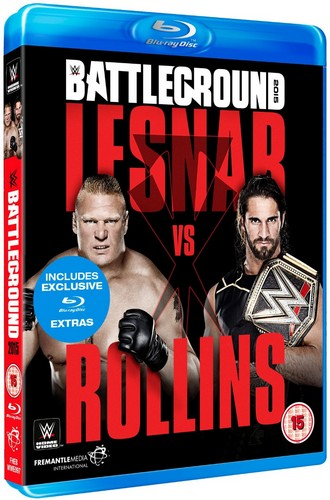 WWE: Battleground 2015 (Blu-ray)
