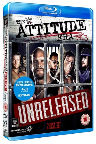 WWE: Attitude Era Vol. 3 - Unreleased [Blu-ray] (Blu-ray)