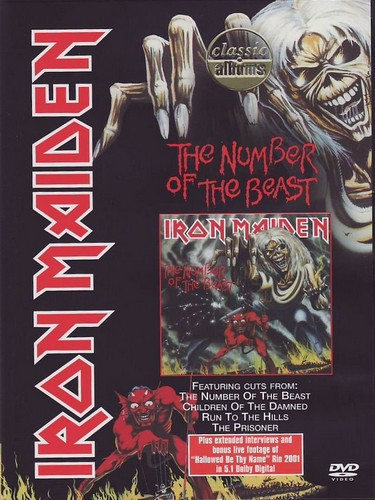 Iron Maiden - Number Of Beast (DVD)