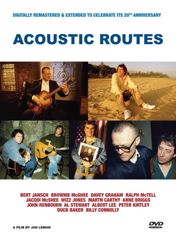 Bert Jansch - Acoustic Routes [Video] (+Dvd) (Music Cd) (DVD)