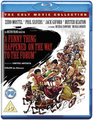 A Funny Thing Happened on the Way to the Forum [Blu-ray]