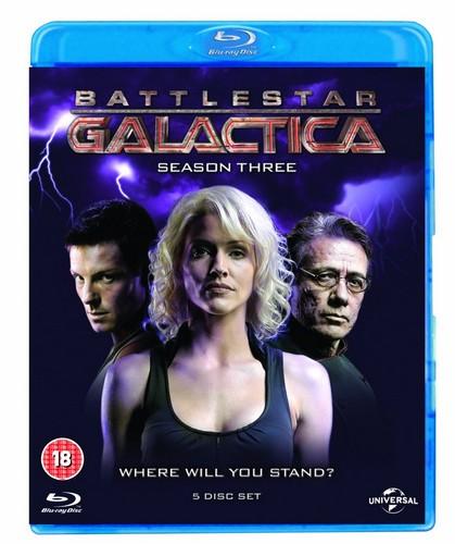 Battlestar Galactica: Season 3 (Blu-ray)