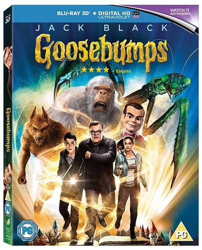 Goosebumps - Blu-ray 3D (Blu-ray)