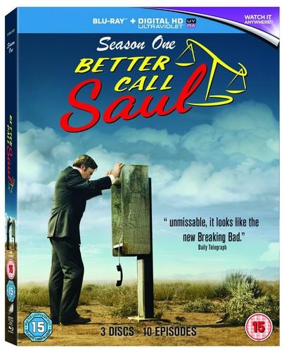 Better Call Saul - Season One (Blu-Ray + UV)