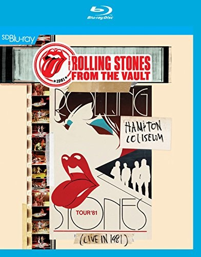 The Rolling Stones - From The Vault: Hampton Coliseum - Live In 1981 [Sd Blu-Ray] [2014] [NTSC] (Blu-ray)