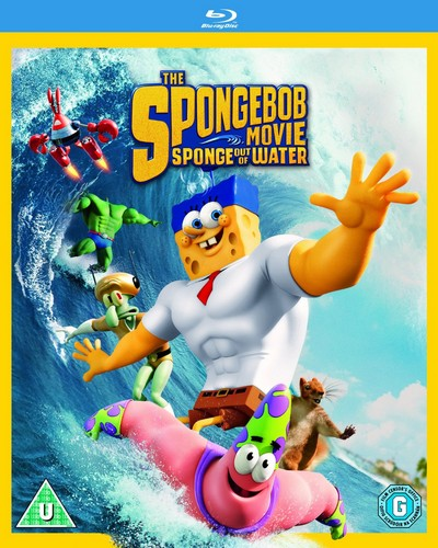 The Spongebob Movie: Sponge Out of Water [Blu-ray]