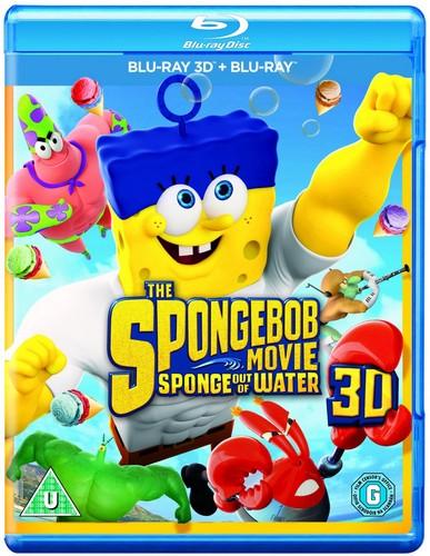 The Spongebob Movie: Sponge Out of Water [Blu-ray 3D + Blu-ray]