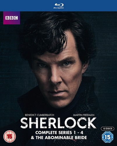 Sherlock - Series 1-4 & Abominable Bride Box Set (Blu-ray)