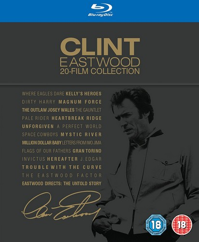Clint Eastwood - 20 Film Collection (Blu-Ray)