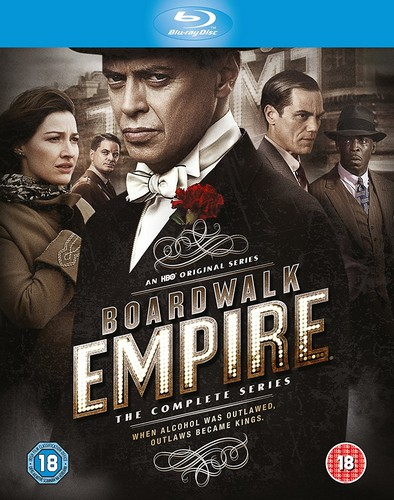 Boardwalk Empire - The Complete Season 1-5 (Region Free) (Blu-ray)