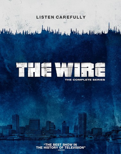 The Wire: The Complete Seasons 1-5 (Blu-ray)
