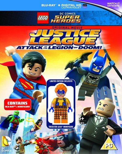 Lego: Justice League - Attack Of The Legion Of Doom [Blu-ray] (Blu-ray)