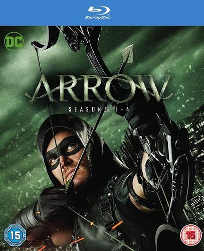 Arrow - Season 1-4 [Blu-ray]