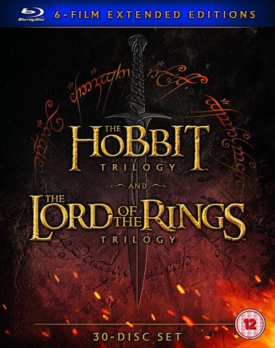 Middle Earth - Six Film Collection [Blu-ray] [2016] (Blu-ray)