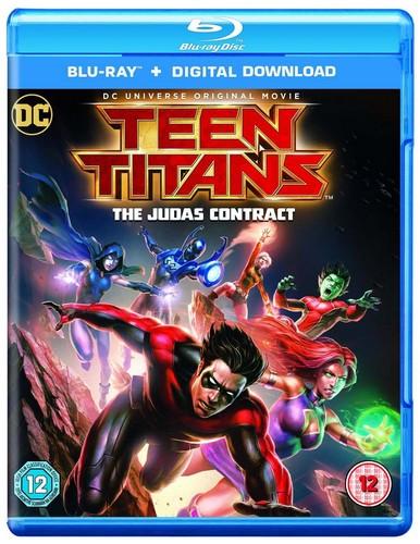 Teen Titans: Judas Contract [Includes Digital Download]  [2016] (Blu-ray)