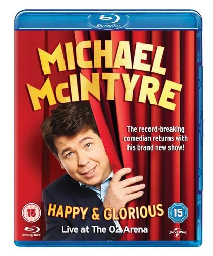 Michael McIntyre - Happy & Glorious [Blu-ray] [2015] (Blu-ray)