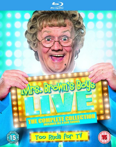 Mrs Brown's Boys Live 2012-2015 [Blu-ray]