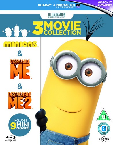 Despicable Me / Despicable Me 2 / Minions (Box Set) (Blu Ray)