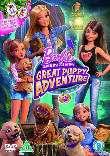 Barbie & Her Sisters In The Great Puppy Adventure (DVD)