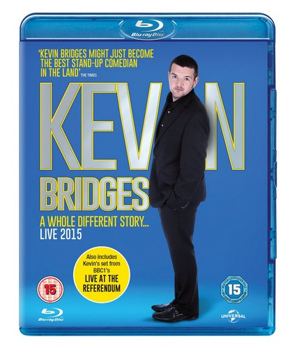 Kevin Bridges Live: A Whole Different Story [Blu-ray] [2015] (Blu-ray)