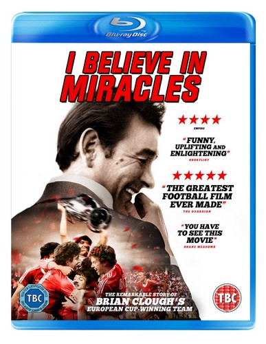 Brian Clough: I Believe In Miracles [Blu-ray]