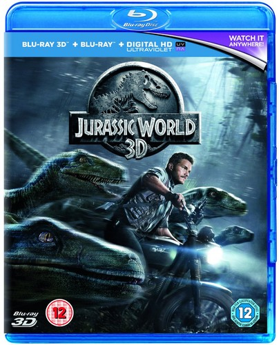 Jurassic World [Blu-ray 3D + Blu-ray]