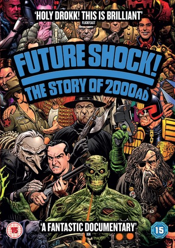 Future Shock! The Story Of 2000Ad (DVD)