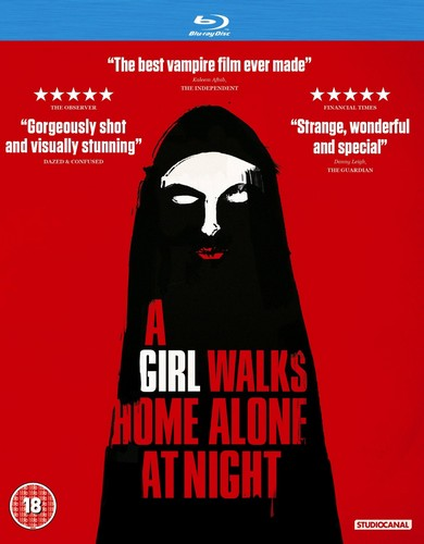 A Girl Walks Home Alone At Night [Blu-Ray] (DVD)