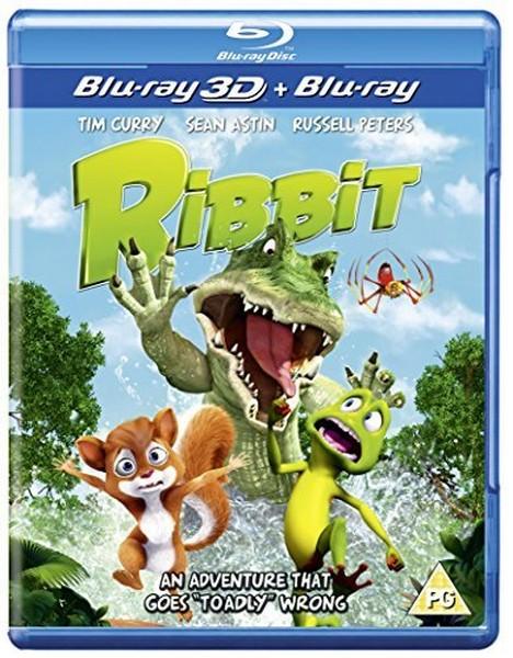 Ribbit 3D (BLU-RAY)