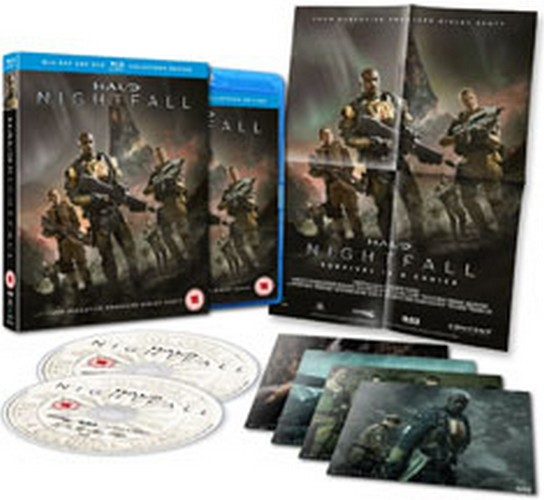 Halo: Nightfall - Collectors Edition (Blu-ray)