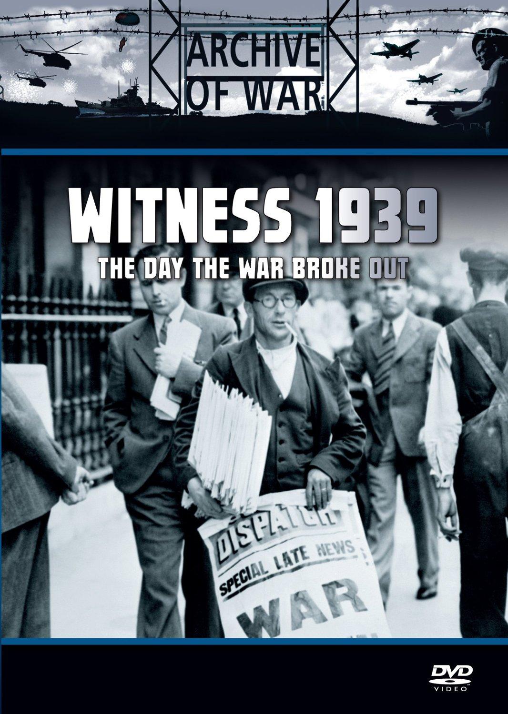 Witness 1939: When War Broke Out (DVD)