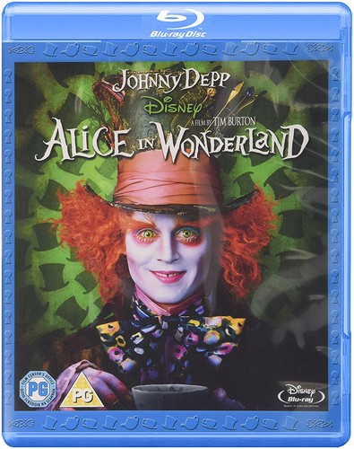 Alice In Wonderland (BLU-RAY)- REGION FREE