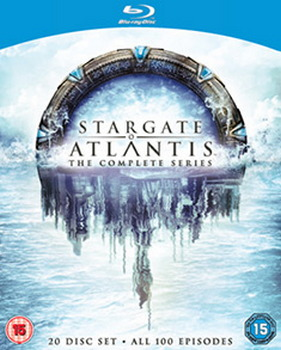 Stargate Atlantis: The Complete Seasons 1-5 (Blu-ray)