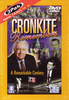 Cronkite Remembers A Remarkable Century - 3 Dvd Box Set (DVD)