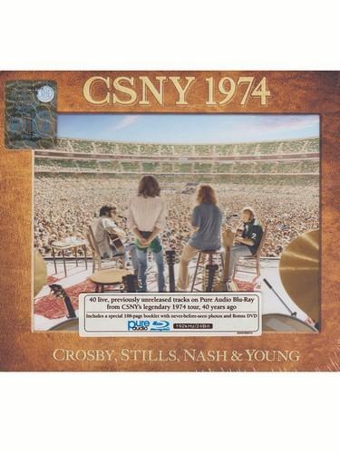 Crosby  Stills  Nash & Young - CSNY 1974 (Blu-Ray & DVD) (Music CD)