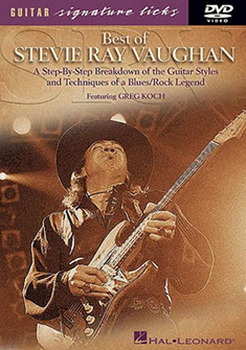 Best Of Stevie Ray Vaughan Guitar Licks (DVD)