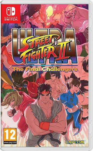 Ultra Street Fighter 2: The Final Challengers /Switch