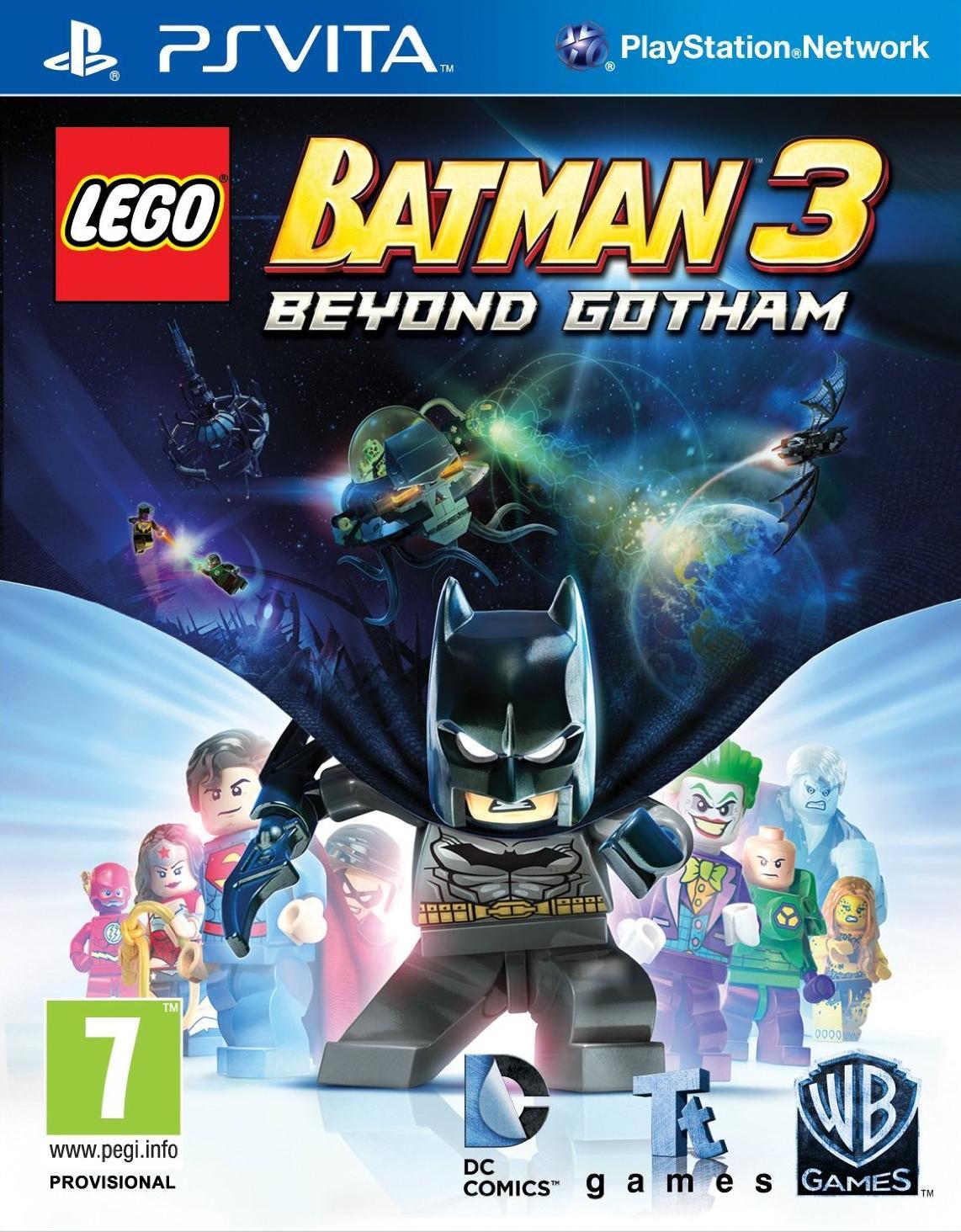 Lego Batman 3: Beyond Gotham (Vita)