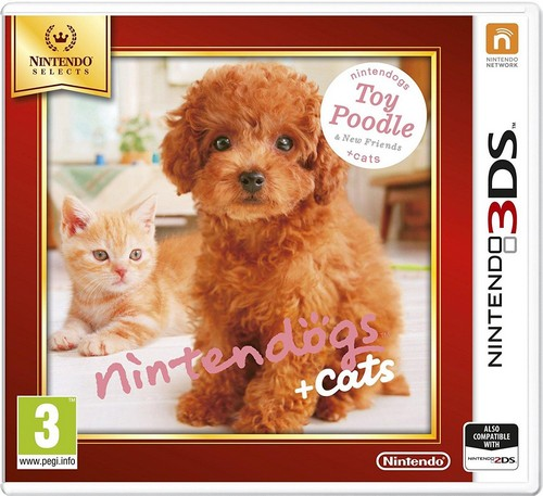 Nintendogs and Cats 3D: Toy Poodle (Selects) (3DS)
