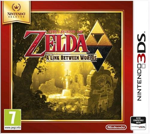 Legend of Zelda: A Link Between Worlds (Selects) (3DS)