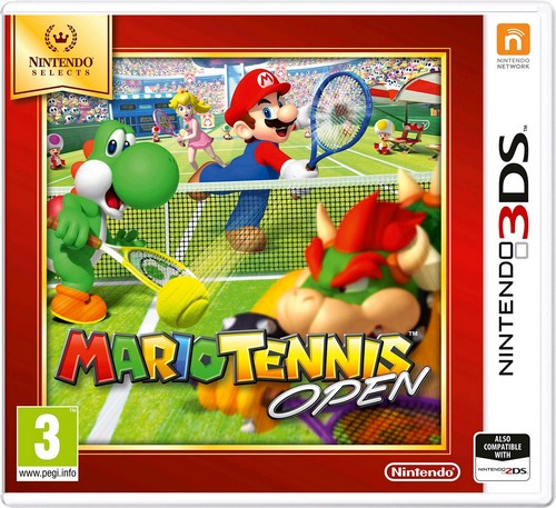 Mario Tennis Open (Selects) (3DS)