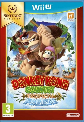 Donkey Kong Country: Tropical Freeze (Selects) (Wii-U)