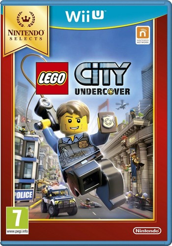 Lego City Undercover (Solus) (Selects) (Wii-U)